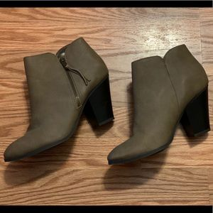 Charlotte Russe Brown Brown Heeled Boots
